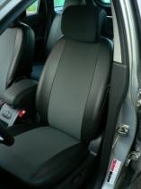 Авточехлы на Nissan Micra Экокожа
