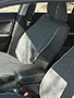 Авточехлы на Nissan Juke Экокожа+Жаккард