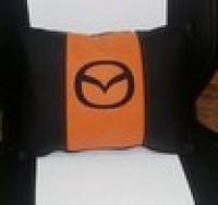 Подушка с логотипом Mazda