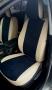 Авточехлы на Nissan Terrano Экокожа+алькантара (замша)